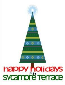 happy holidays from sycamore