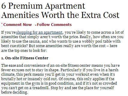 Living in Comfort: Amenities in Temecula Apartments That You Need