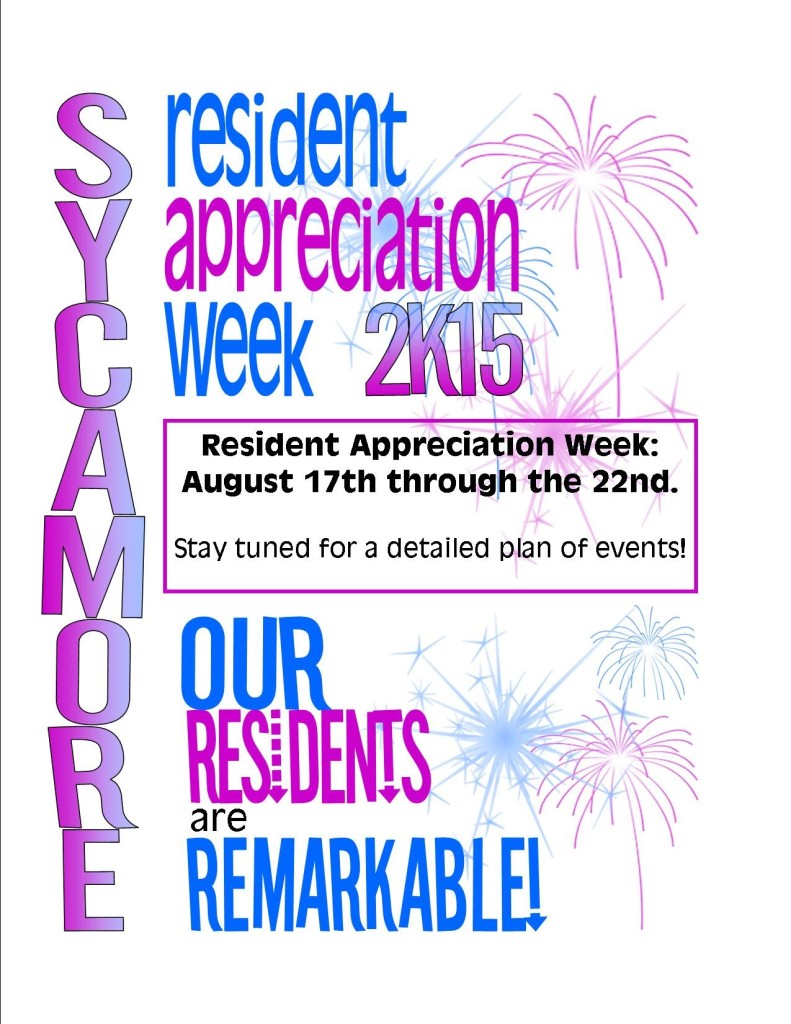 resident appreciation week 2015