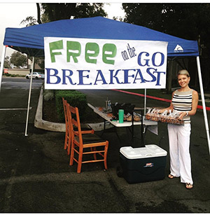 Free Breakfast Booth