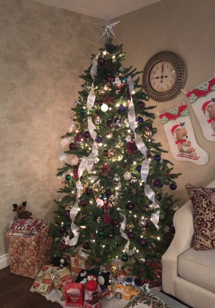 Our Christmas Tree is photo ready just in time for Santa!
